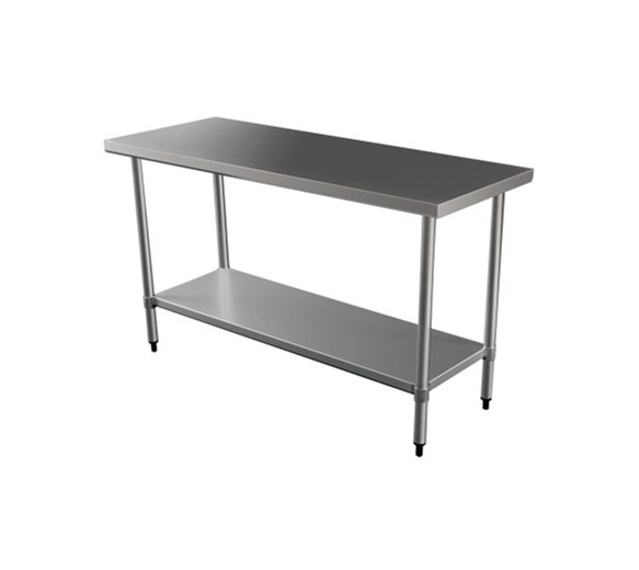 Quattro 1200mm Wide Stainless Steel Centre Bench
