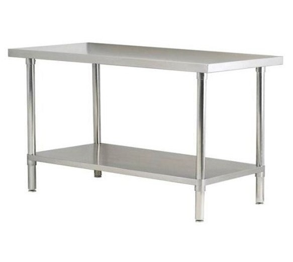 Quattro 1800mm Wide Stainless Steel Centre Bench