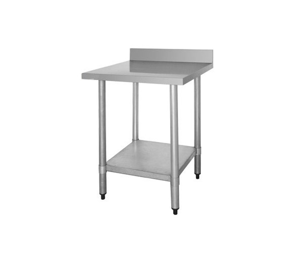 Quattro Value Line 600mm Wide Stainless Steel Wall Bench