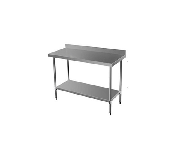 Quattro 900mm Wide Stainless Steel Wall Bench