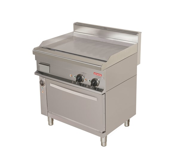 Arisco Freestanding Electric Oven with Smooth Griddle Top