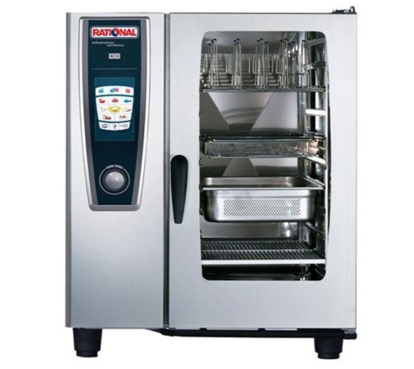 Rational 10 Grid Self Cook Centre Electric Combi Steam Oven SCC101E - 3 Phase