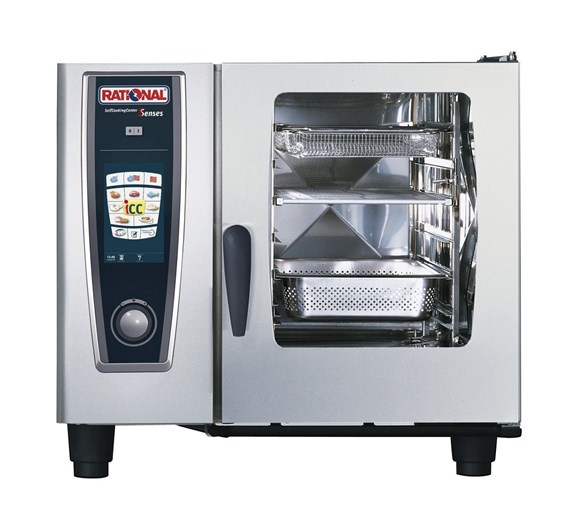 Rational 6 Grid Self Cook Centre Electric Combi Steam Oven SCC61E - 3 Phase Electric