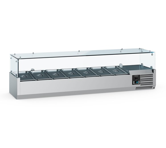 Combisteel Ecofrost 2000mm Refrigerated Topping Unit 10 x 1-4 GN Pans