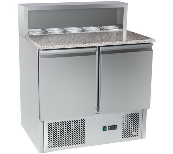 Gastroline PS900 Refrigerated Pizza - Sandwich Prep Counter