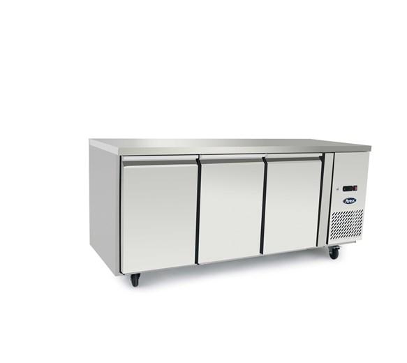Atosa 3 Door Refrigerated Prep Counter 700mm Deep  EPF3432