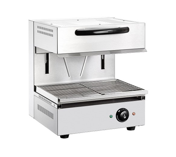 Quattro Rise and Fall Salamander Grill 450mm Wide Electric - Fitted 13 Amp Plug
