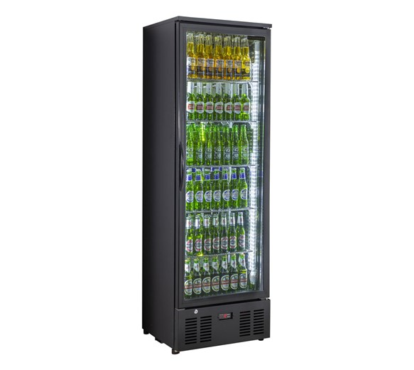 Genfrost Commercial Glass Door Display Fridge GBB300