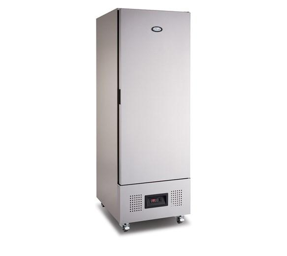 Foster Slimline 400 Litre Upright Commercial Freezer FSL400L with Castors