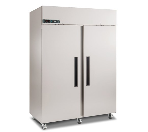 Foster Xtra 1300 Litre Double Door Upright Refrigerator with Castors XR1300H