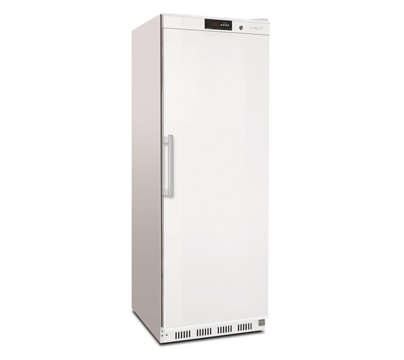 Husky 400 Litre Single Door Upright Refrigerator CBR400H White With 4 Shelves