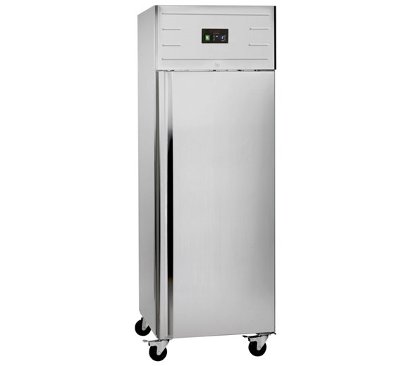 Tefcold 550 Litre Stainless Steel Single Door Catering Refrigerator GUC70