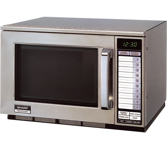 Sharp R24AT 1900w Commercial Microwave Oven