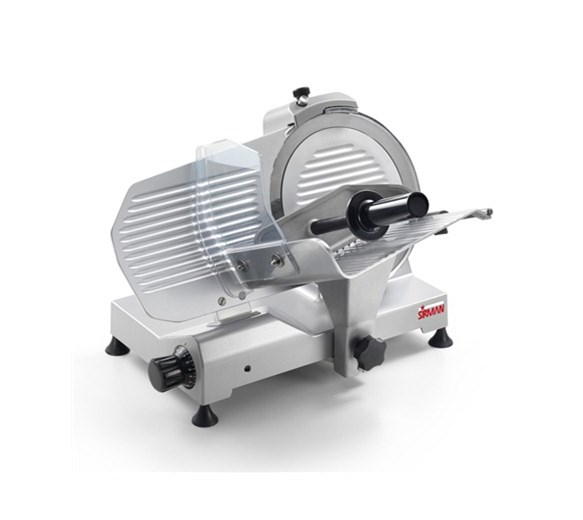 """Sirman Smart 250 - 250mm - 10"""" Meat Slicer - Made In Italy"""