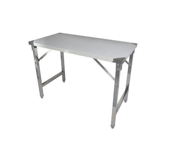 Quattro 1400mm Stainless Steel Foldable Work Table