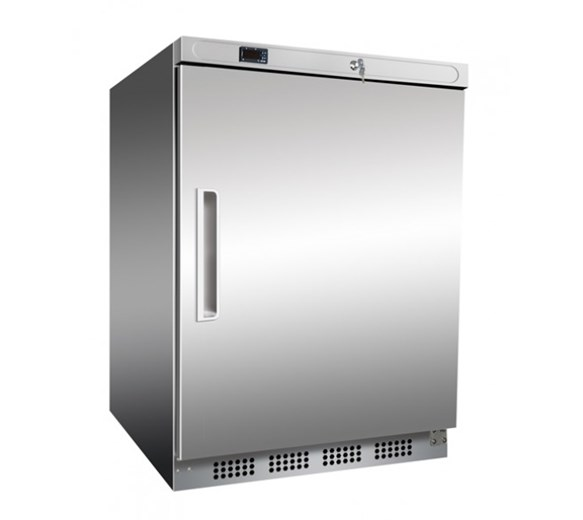 Prodis Stainless Steel Undercounter Catering Fridge 130  Litre Capacity