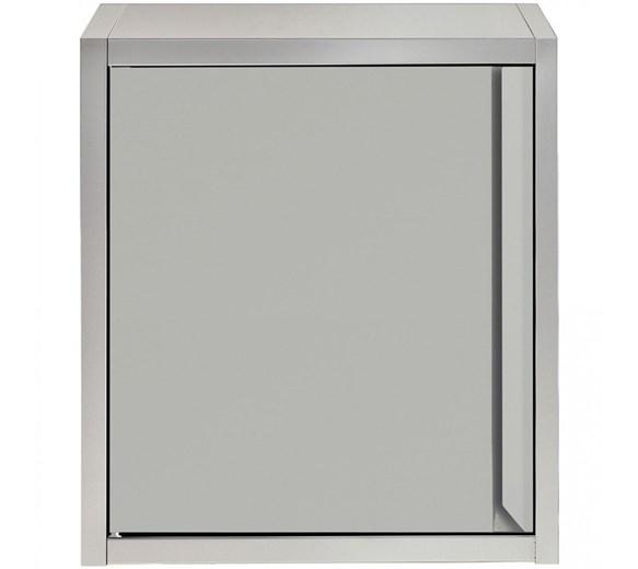 Italinox Wall Cupboard - Cabinet Stainless Steel - Hinged Door - 600mm Wide