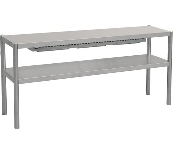 Italinox 1500mm Twin Shelf Over Gantry / Food Pass