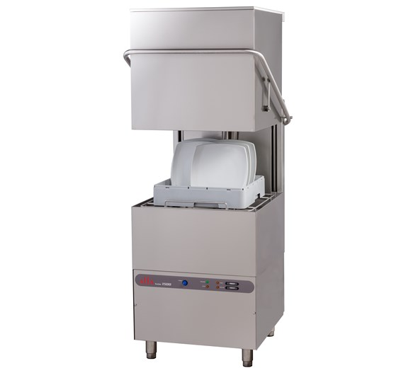 Elviomex Alfa Pass Through Hood Dishwasher 3 Phase Turbo 1500