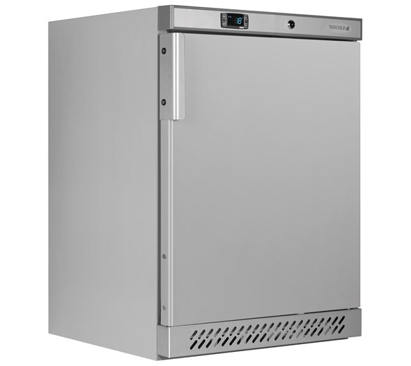 Tefcold UF200SB Stainless Steel Undercounter 140 Litre Commercial Catering Freezer