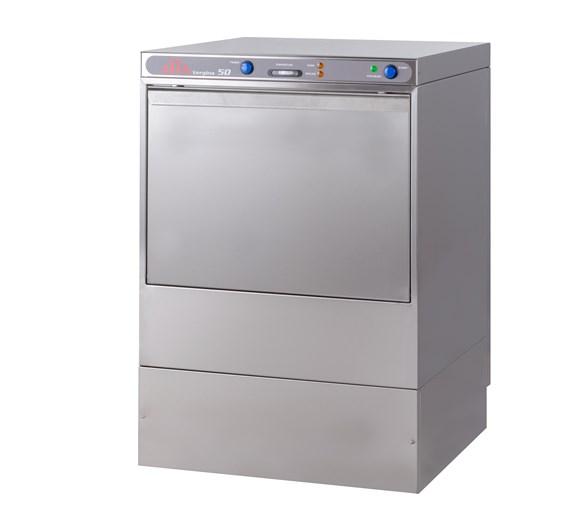 Elviomex Alfa 500mm Dishwasher - Drain Pump - Rinse Aid + Detergent Dispensers