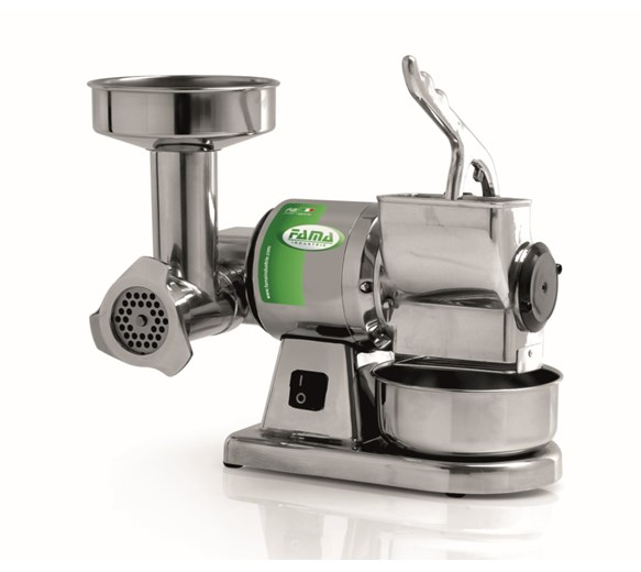 FAMA FTGM102 TG8 Combo Medium Duty Cheese and Meat Grinder 30Kg per hour