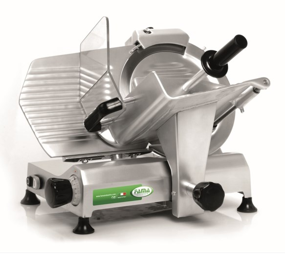 """FAMA 300mm 12"""" Eco Large Base FAFG303 Heavy Duty Gravity Slicer - Made In Italy"""
