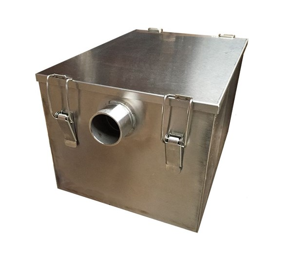 Stainless Steel 5kg - 20  Litre Grease Trap - Fat Separator