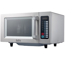 Quattro 1000w 25ltr Programmable Commercial Flatbed Microwave Oven