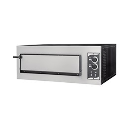 Italinox Single Phase Electric Single Deck Pizza Oven 4 x 10 inch Pizzas
