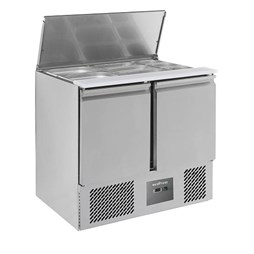 Combisteel Ecofrost 2 Door Refrigerated Saladette With Lift Up Lid S900