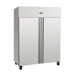 Gastroline 1200 Litre Double Door Stainless Steel Freezer Static Cooling