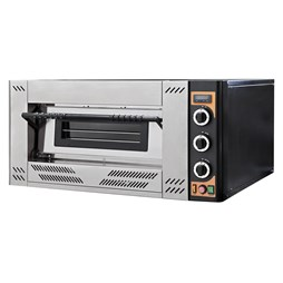 Italinox Prisma G6 Gas Pizza Oven. Capacity 6 x 12 inch Pizzas - Made In Italy