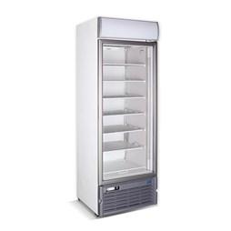 Crystal GDS400 Single Triple Glazed Glass Door Freezer Display With 6 Shelves