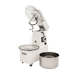 Italinox Dough Mixer Variable Speed Lift Up Lid 16 Litre Removable Bowl