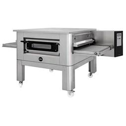 "Italinox Prisma 26"" Belt Electric Conveyor Pizza Oven C/65 1ph + Free Stand Electric"