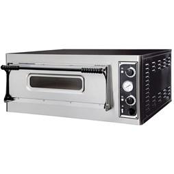 Italinox Prisma Basic 4 Electric Pizza Oven 4 x 13 Inch Pizza Single Deck
