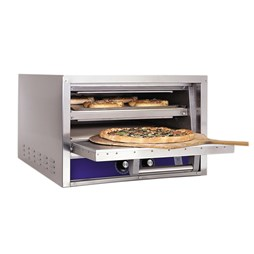 Bakers Pride P22S Twin Deck Electric Countertop Pizza Oven