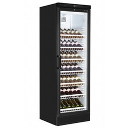 Tefcold Commercial Upright Freestanding Wine Display Cooler FS1380WB-B