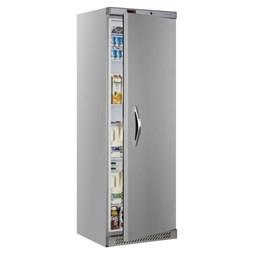 Tefcold UR400SB - 400  Litre Stainless Steel Single Door Catering Fridge