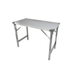 Quattro 1200mm Stainless Steel Foldable Work Table