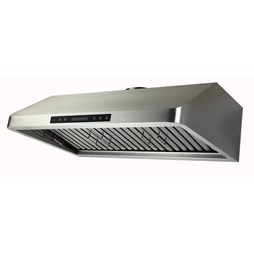 Quattro 1200mm Commercial Extractor Hood with Motor, Filters, LED Lights