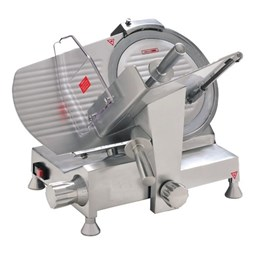Quattro 10 inch 250mm Catering Meat Slicer With Emergency Stop Button HDS250