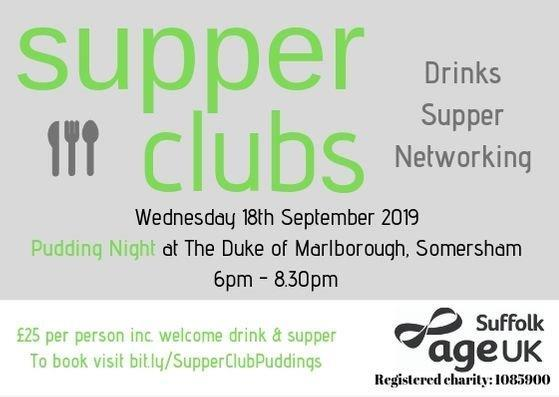 Supper club sept