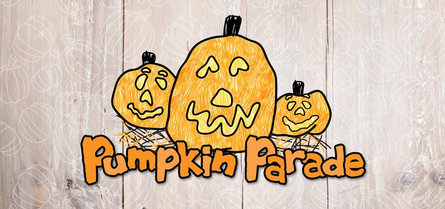 Pumpkin parade website banner