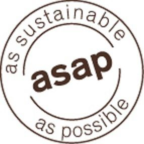 asap, as sustainable as possible