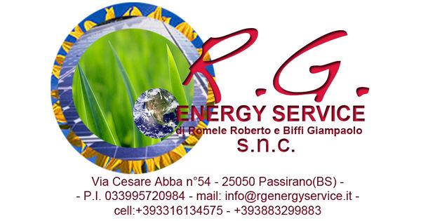 Rg energy service s n c