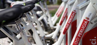 Bike sharing Perugia esempio concreto di integrazione del trasporto pubblico