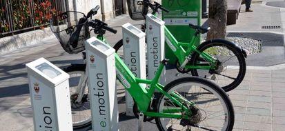 Bike sharing e.motion: a Trento il noleggio é tradizionale ed elettrico