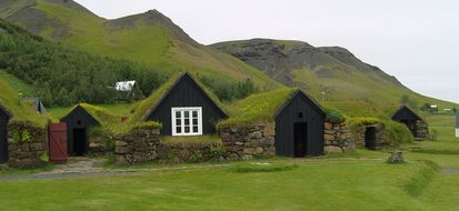 Bioedilizia in Islanda: le case ricoperte di erba